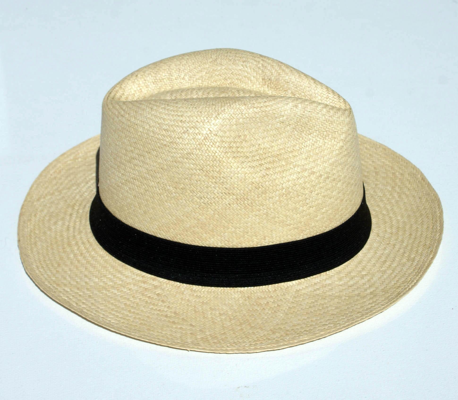 Sombrero De Paja Toquilla (panamahat) Original Hecho en Montecristi -  Ecuador -  14.00 USD - Subastas c5b598e5fbe