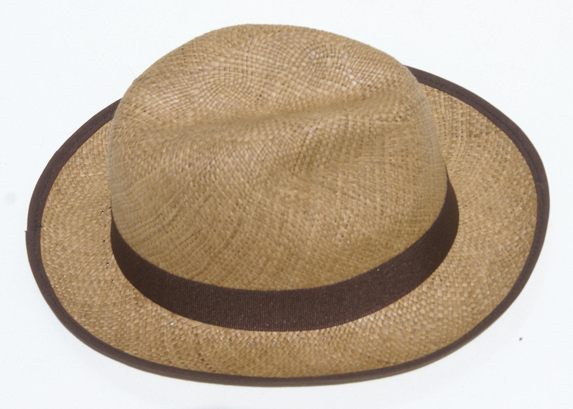437c465fab51b Sombrero de borde cafe